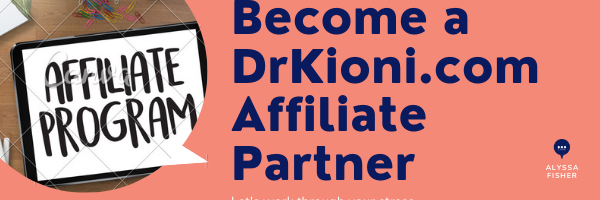 Become a Licensed DrKioni.com Affiliate PartnerPicture